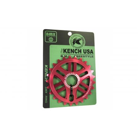 KENCH 6mm 25T CNC red sprocket