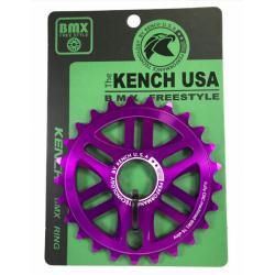 KENCH RN1 25T CNC purple sprocket