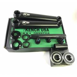 KENCH 3PC 175mm black cranks