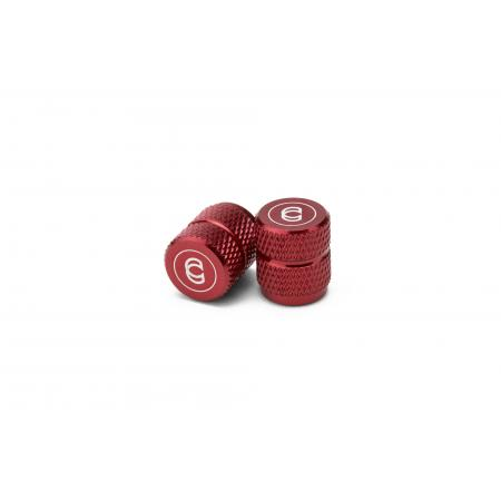 Cinema red Alloy Valve Cap