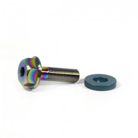 Ti bolt Armour Bikes Go Grind for hub 10 mm 24tpi Oil Slick