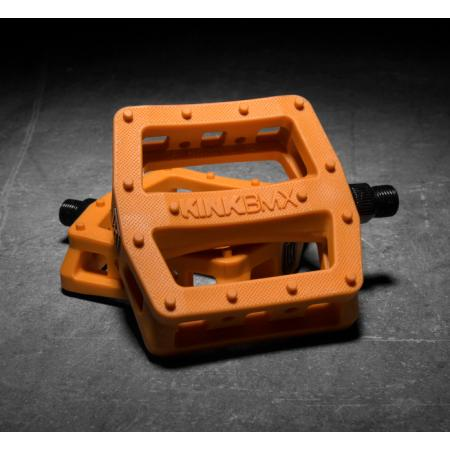 KINK Hemlock orange PC pedals