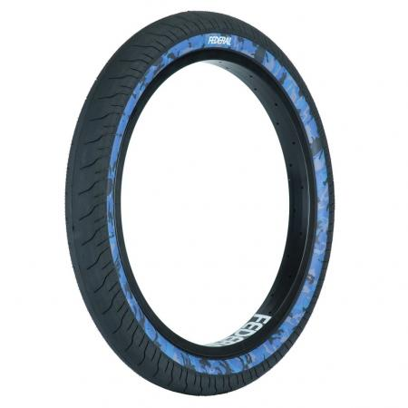 Federal Command LP 2.4 black with blue camo wall BMX tire