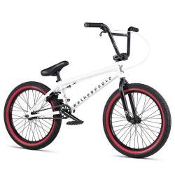 WeThePeople NOVA 2020 20 matt white BMX bike