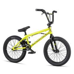 WeThePeople CRS FS 18 2020 18 metallic yellow BMX bike