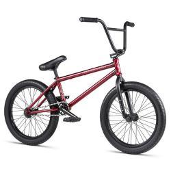 WeThePeople JUSTICE 2020 20.75 matt translucent red BMX bike
