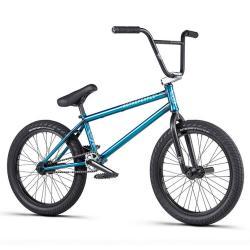 WeThePeople CRYSIS 2020 20.5 matt translucent teal BMX bike