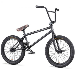 WeThePeople CRYSIS 2020 20.5 matt black BMX bike