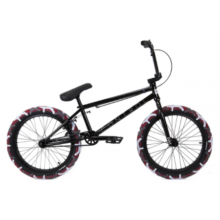 CULT CONTROL 2020 20.75 black BMX bike