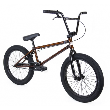 CULT CONTROL 2020 20.75 trans brown BMX bike
