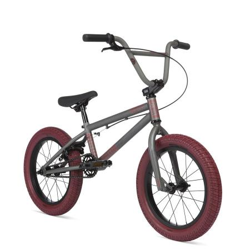 STOLEN AGENT 16 2020 16.25 Matte Raw with Red Tires BMX bike