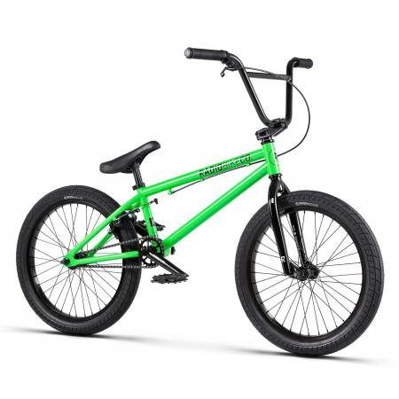 Radio DICE 20 2020 20 neon green BMX bike