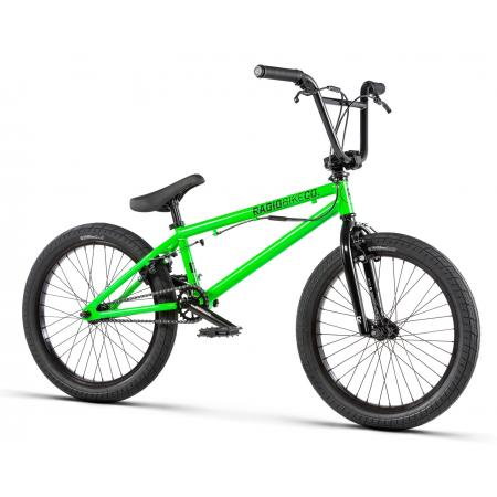 Radio DICE FS 20 2020 20 neon green BMX bike