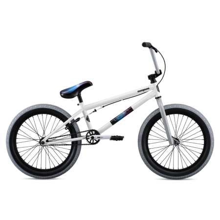 Mongoose L40 2020 20.5 white BMX bike