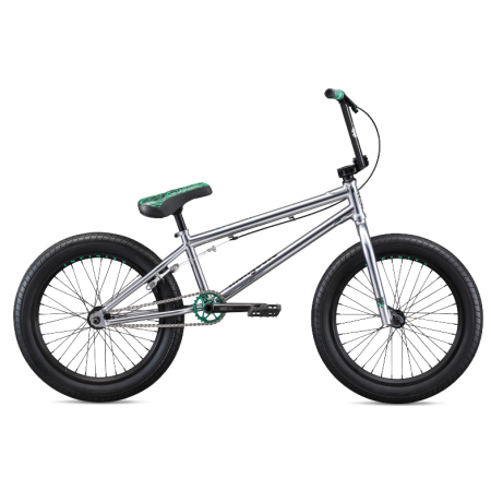 Mongoose L500 2020 21 chrome BMX bike
