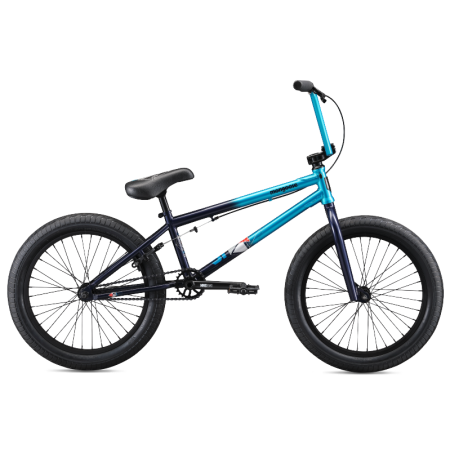 Mongoose L80 2020 21 teal with black BMX bike