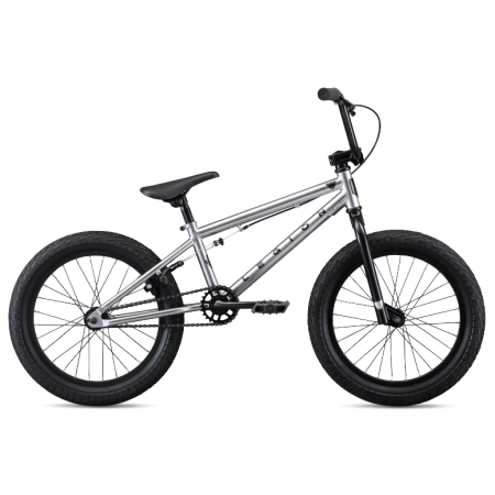 Mongoose L18 2020 silver BMX bike