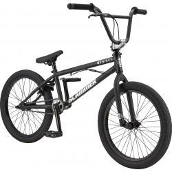 GT Slammer 2020 20 matte black BMX bike