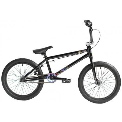 Academy Inspire 18 2020 Gloss Black with Rainbow BMX bike