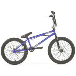 Colony Emerge 2020 20.4 Brilliant Blue with Polished BMX bike