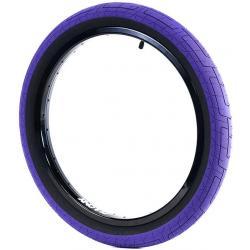 Colony Grip Lock 2.35 purple BMX tire