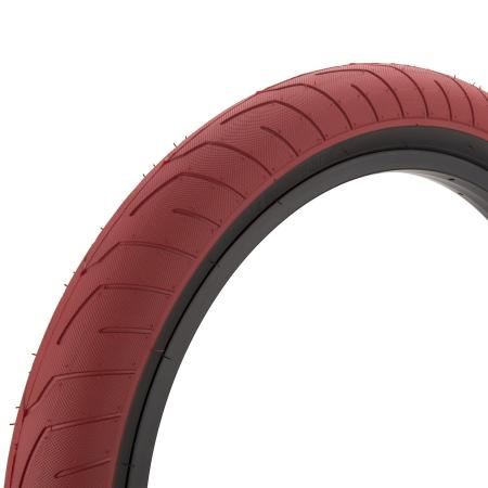 KINK BMX Sever 2.4 red with back wall BMX tire