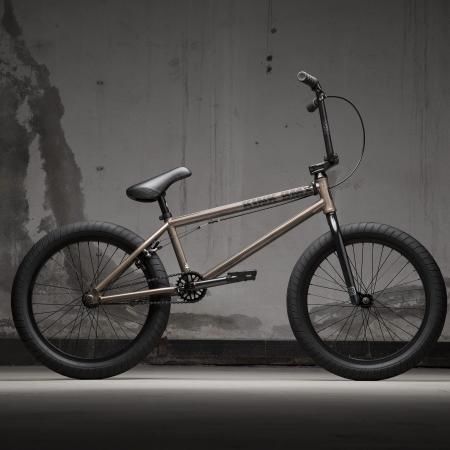 KINK Gap XL 2021 Gloss Raw Copper BMX bike