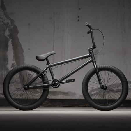 KINK Launch 2021 Matte Dusk Black BMX bike