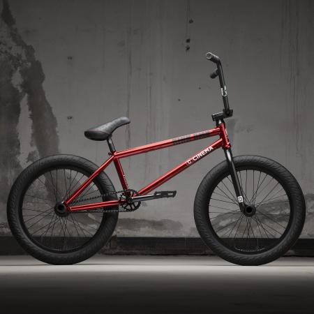 KINK Williams 2021 Gloss Mirror Red BMX bike