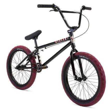Stolen 2021 CASINO 20.25 Black with Blood Red BMX bike