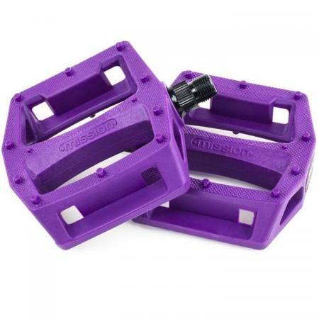 Mission Impulse purple PC pedals