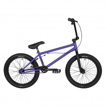 Kench Street CRO-MO 2021 20.75 purple BMX bike