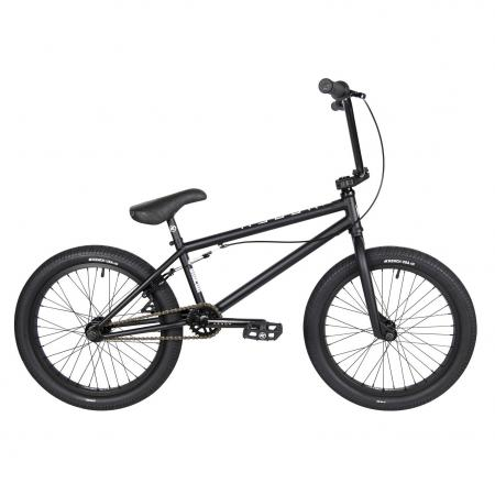 Kench Street CRO-MO 2021 20.75 black BMX bike