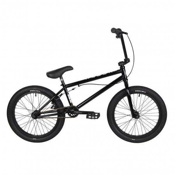 Kench Street Hi-ten 2021 21 black BMX bike