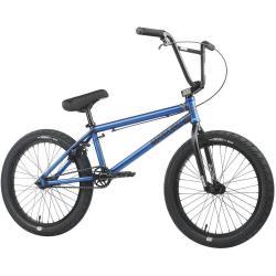 Mankind Sureshot 2021 20.5 Semi Matte Trans Blue BMX Bike