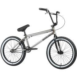 Mankind Sureshot 2021 20.5 Gloss Raw BMX Bike