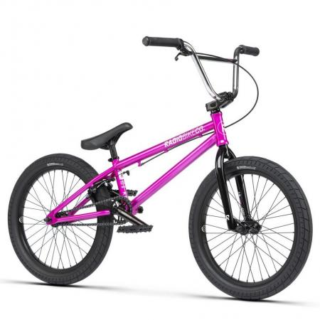 Radio SAIKO 2021 19.25 metallic purple BMX bike