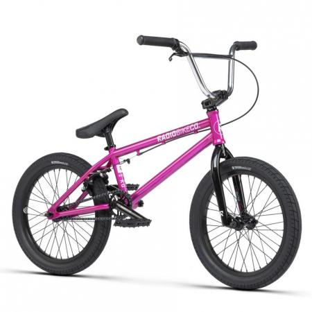 Radio SAIKO 18 2021 18 metallic purple BMX bike