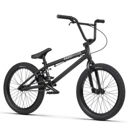 Radio DICE 20 2021 20 matt black BMX bike