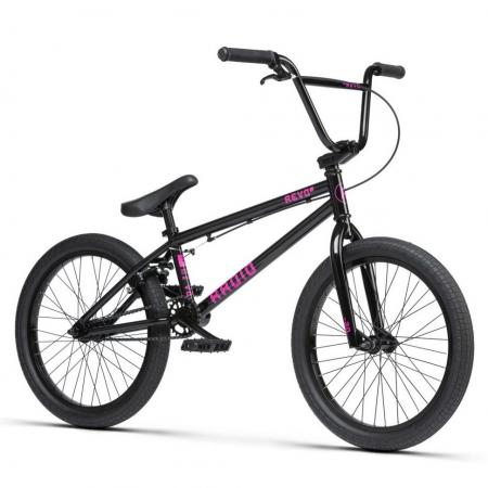 Radio REVO 2021 20 black BMX bike